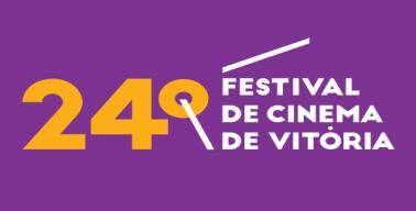 Logo do vigésimo quarto festival de cinema de vitória